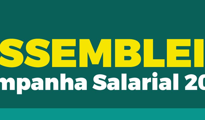 Participe: Assembleia Geral de Dissídio 2017