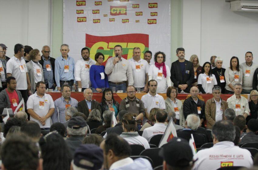 Sindicomerciários Caxias participa do 4º Congresso da CTB em Porto Alegre