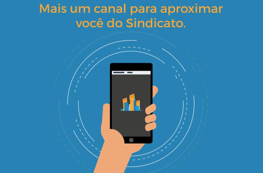 Sindicomerciários Caxias lança aplicativo para celulares smartphones