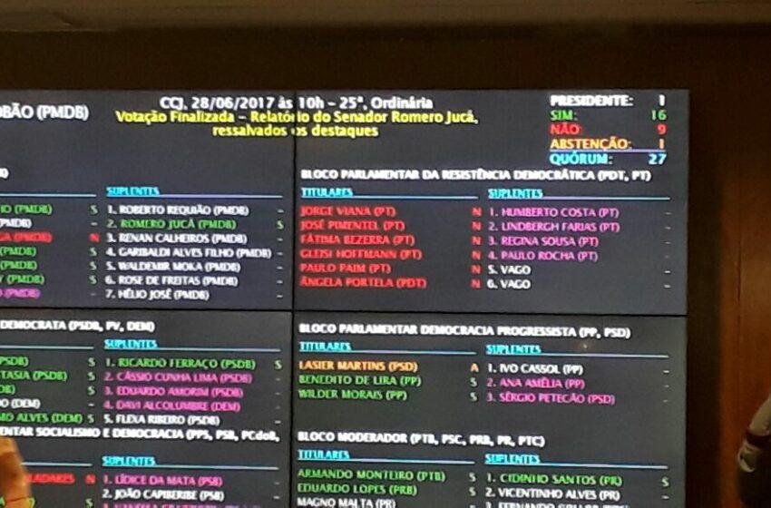 Reforma Trabalhista é aprovada na CCJ do Senado