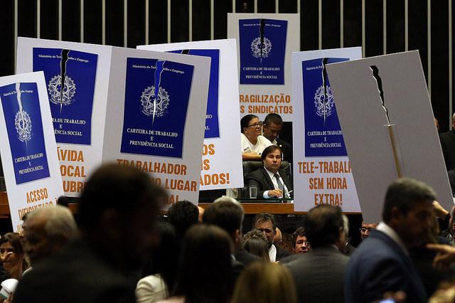 Votação da reforma trabalhista acontece na próxima terça (11) no plenário do Senado