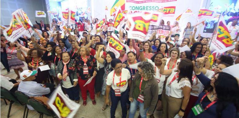 Congresso da CTB reforça a luta por igualdade entre os gêneros