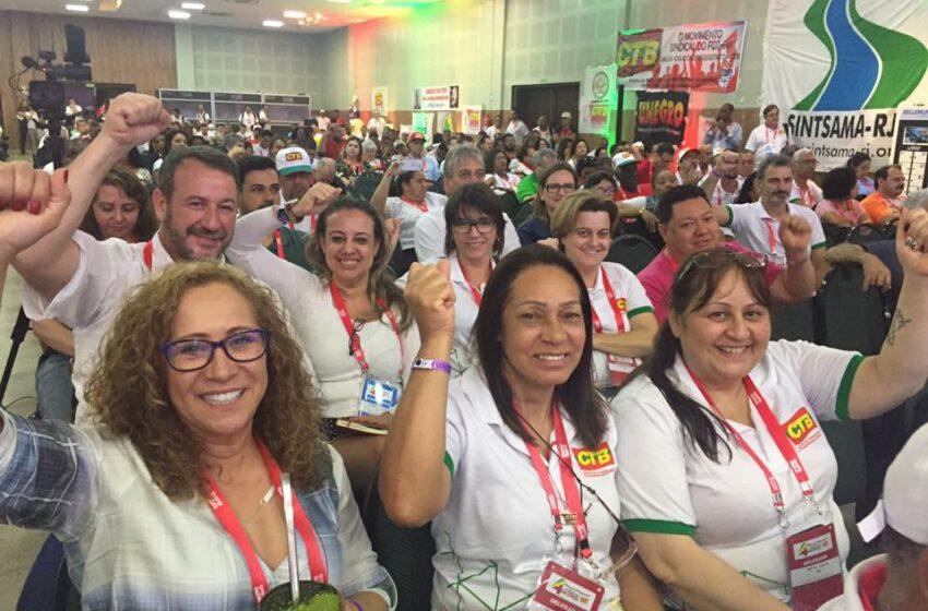 Diretores do Sindicomerciários representaram a entidade em encontro nacional de sindicalistas
