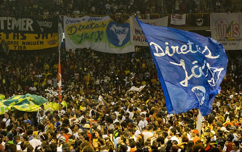 UNE completa 80 anos nesta sexta (11) com ato pelas Diretas em São Paulo
