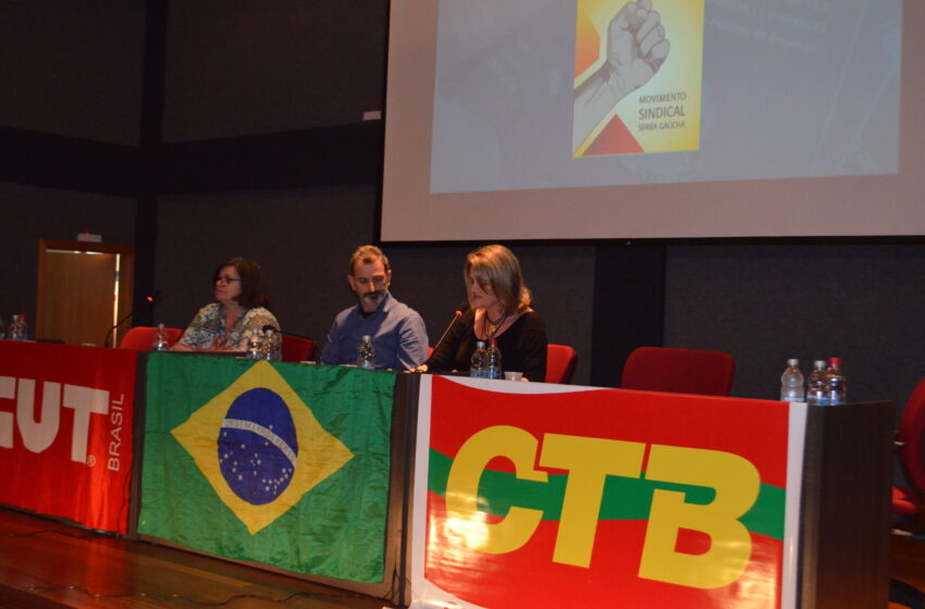 Seminário assinala a união dos trabalhadores como força fundamental para a resistência