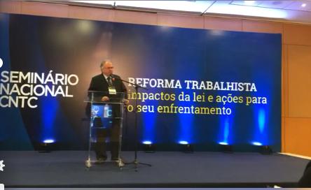 Seminário Nacional da CNTC:  Sindicomerciários Caxias tem representantes no debate sobre a reforma trabalhista