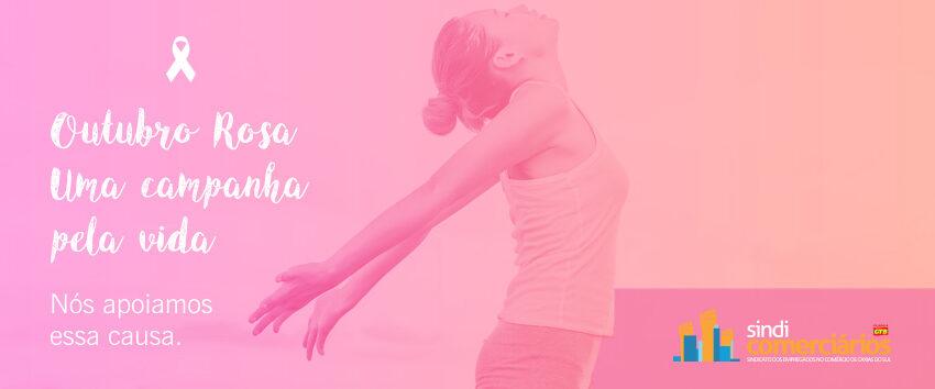 Outubro rosa:  Um mês dedicado a conscientização sobre o câncer de mama