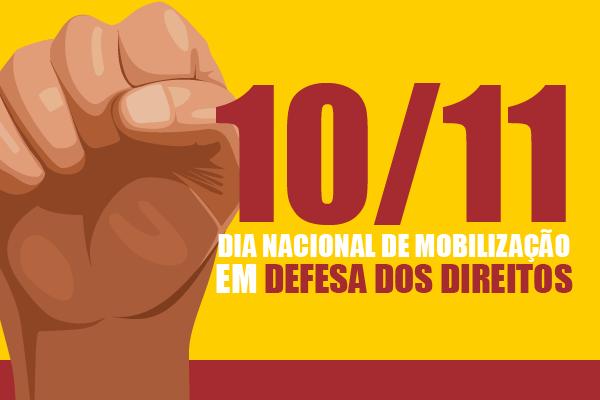 10/11 – Confira como será o Dia Nacional de Mobilização no RS