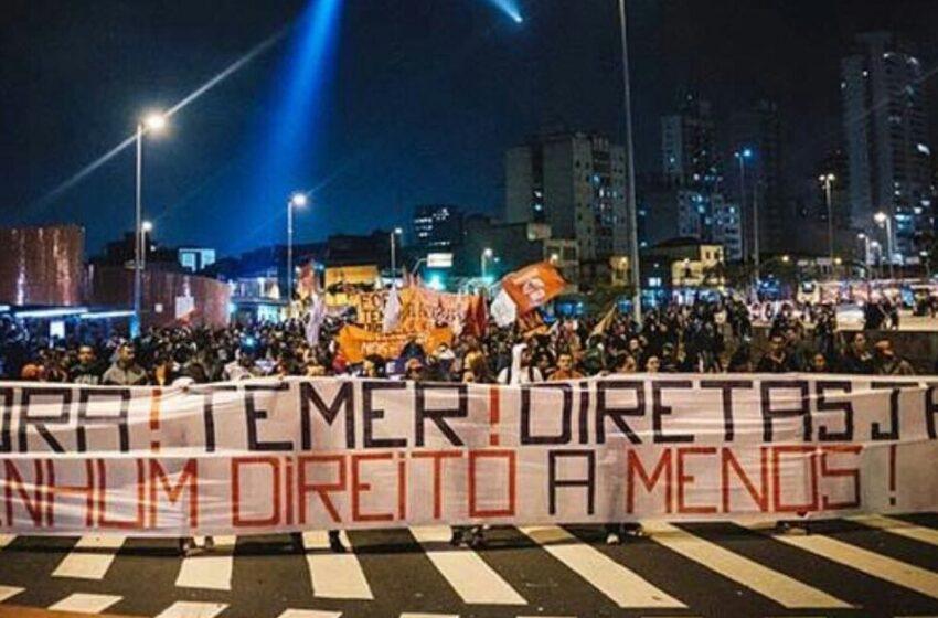 Porto Alegre amanheceu com manifestações contra a reforma trabalhista
