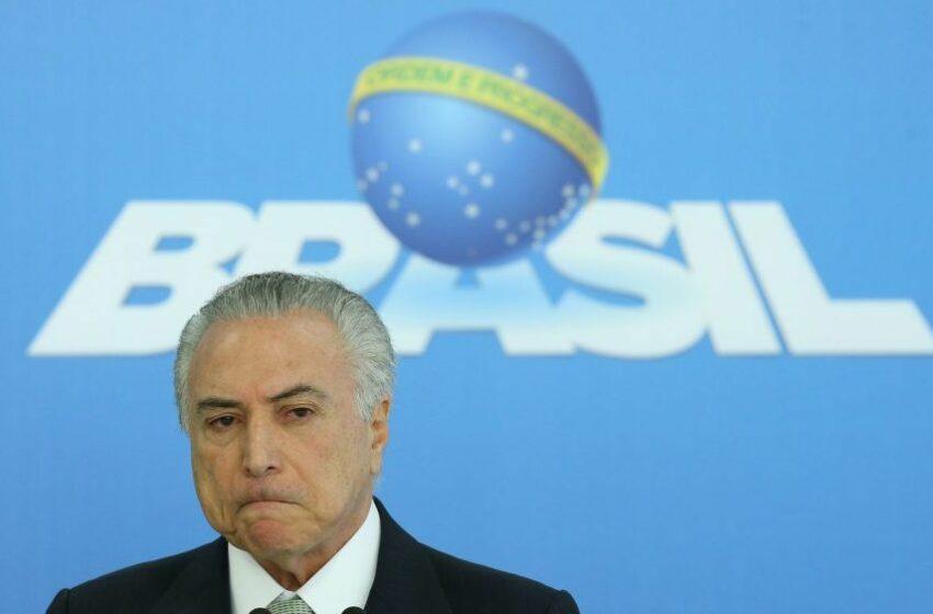 90% dos brasileiros não confiam em Temer, aponta pesquisa CNI-Ibope
