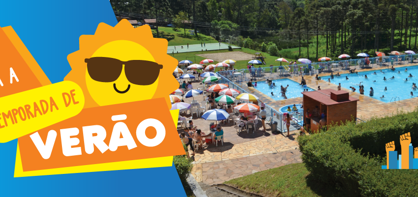 Aproveite a Temporada de Verão da Sede Campestre 2018/2019