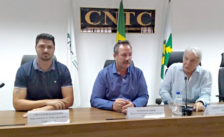 Encontro na CNTC reúne entidades sindicais e redes de lojas