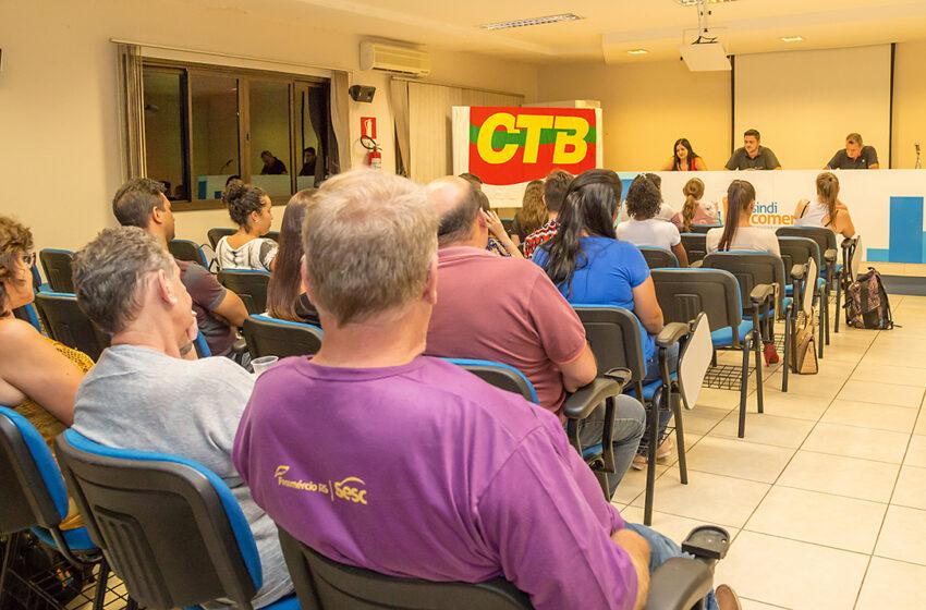 Comerciários aprovam Contribuição Sindical em assembleia