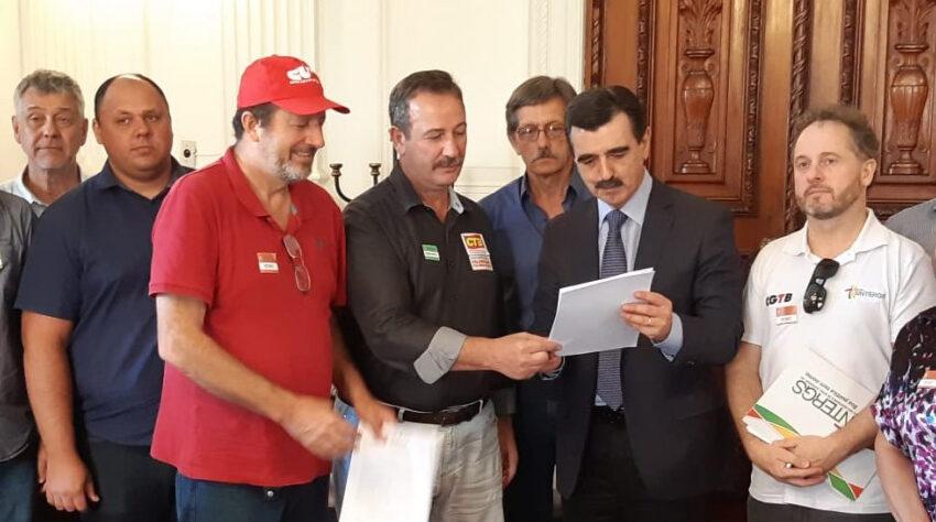 Centrais Sindicais solicitam reajuste de 8,43% em reunião com a Casa Civil