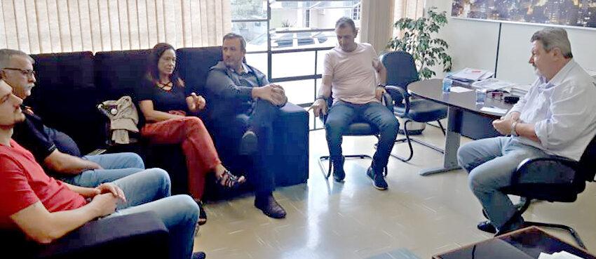 Sindicomerciários se reúne com vice-prefeito para pleitear passarela na RS453
