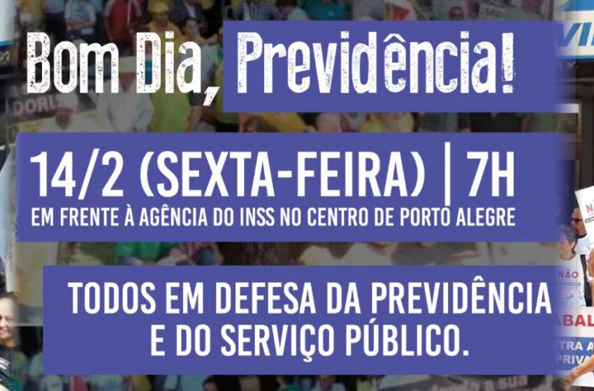 Sexta-feira é dia de protesto nos postos do INSS