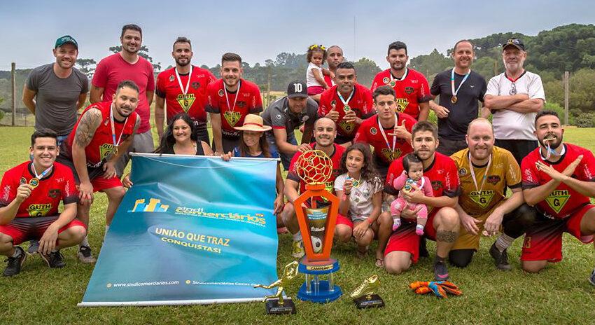 Sindicomerciários realiza grande integração dos comerciários com torneio de futebol 7