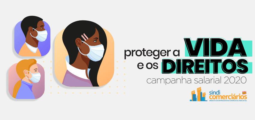 PROTEGER A VIDA E OS DIREITOS DOS COMERCIÁRIOS E COMERCIÁRIAS
