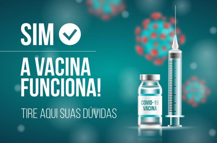 SIM, A VACINA FUNCIONA!