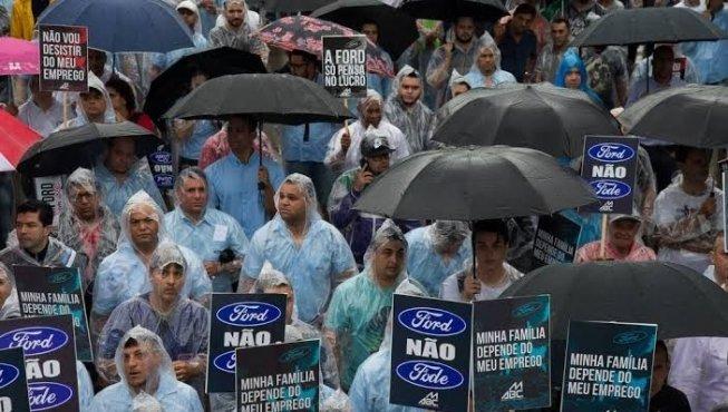 Ford: Brasil segue perdendo indústrias e empregos