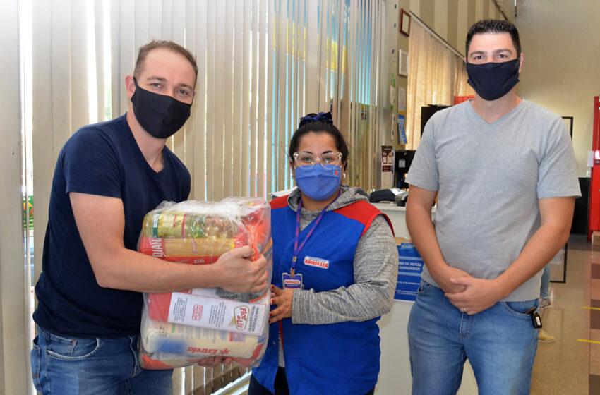 #TAMOJUNTO: COMERCIÁRIOS SORTEADOS RECEBEM AS CESTAS BÁSICAS