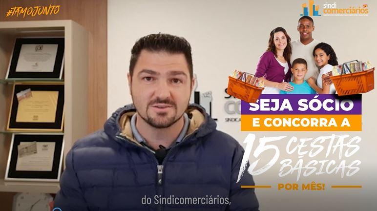 TAMOJUNTO: COMERCIÁRIOS SORTEADOS EM MAIO RECEBEM AS CESTAS BÁSICAS