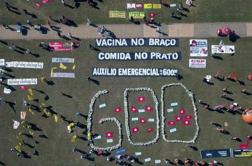Movimento sindical aponta prioridades para o país em manifestação na capital federal