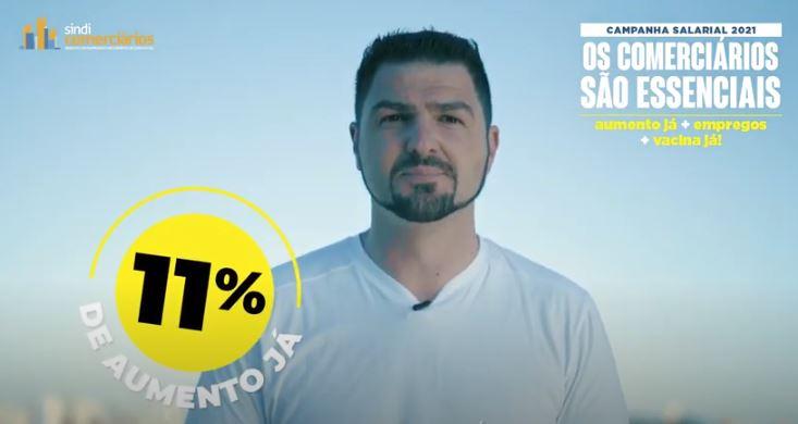 OS COMERCIÁRIOS SÃO ESSENCIAIS:Campanha Salarial 2021