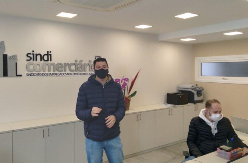 4º sorteio de cestas básicas aos associados do SINDICOMERCIÁRIOS CAXIAS vai beneficiar mais 15 famílias comerciárias
