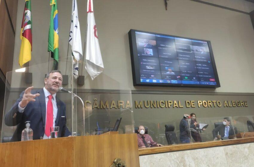 Câmara de vereadores de Porto Alegre aprova Moção em Apoio ao Reajuste de 10,3% para o Mínimo Regional