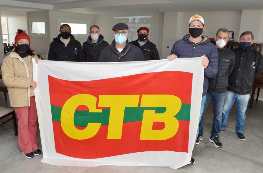 SINDICOMERCIÁRIOS participa do 5º CONGRESSO NACIONAL DA CTB